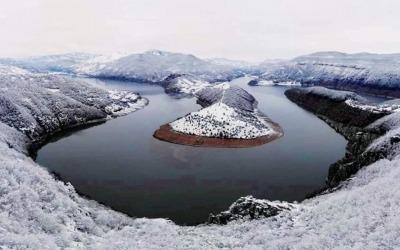 Rivière Arda en hiver immo-bulgara