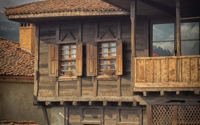 Maison de bois immo-bulgara